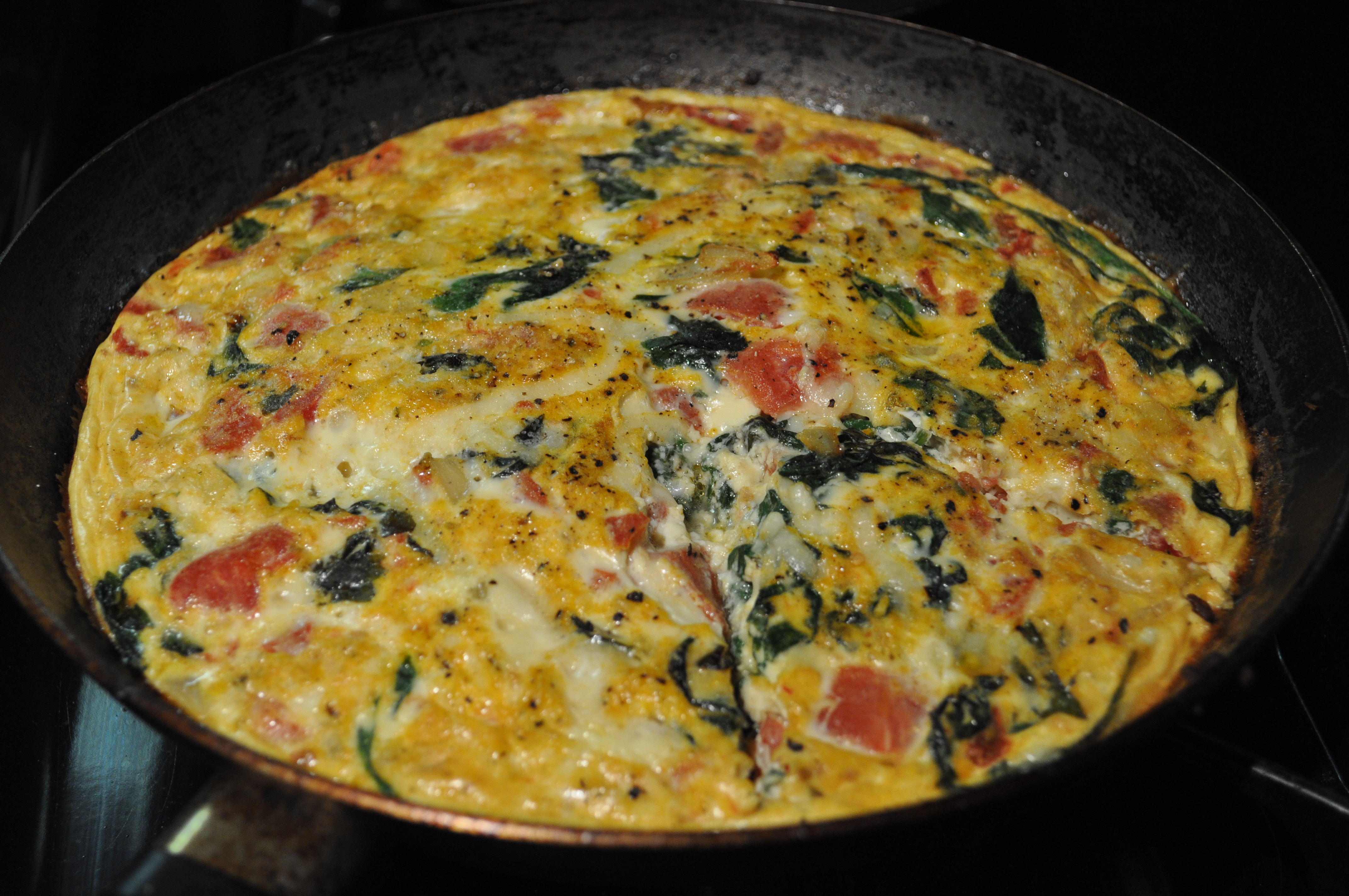 Delizioso Vegetable Frittata | Food Staycation